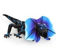 Joke toy Remote control animal LED light RC I/R Lizard Cabrite chameleon electronic pet robot model Prank toy Trick toy gift