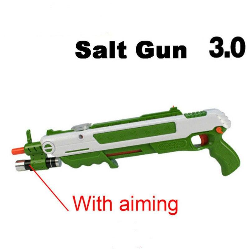 Salt Fly Gun Pepper Bullets Blaster Airsoft For Bug Blow Gun Mosquito Model Toy Salt