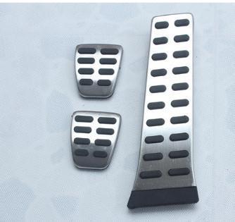 Estilo de coche acelerador protector para pedales de freno y acelerador para Kia ceed K2 K3 K4 K5 KX3 KX5 KX7 SportageR SORENTO accesorios de coche