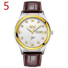 В 2019 году, новые мужские кварцевые часы, высококачественный спортивный мужской ремешок для наручных часов, модные деловые часы, 39