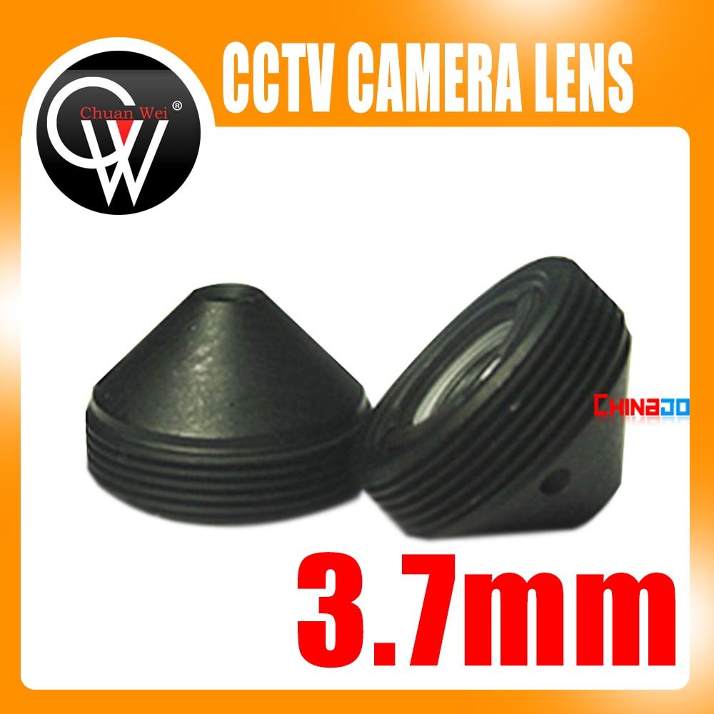 5 stks / partij Hoge Kwaliteit 3.7mm lens camera Lens CCTV Board Lens Voor CCTV Bewakingscamera