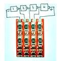 1 s-4 s BMS Placa de Proteção com Equilíbrio para 1 s 2 s 3 s 4S celular 3.2 V Bateria de fosfato de ferro De Lítio