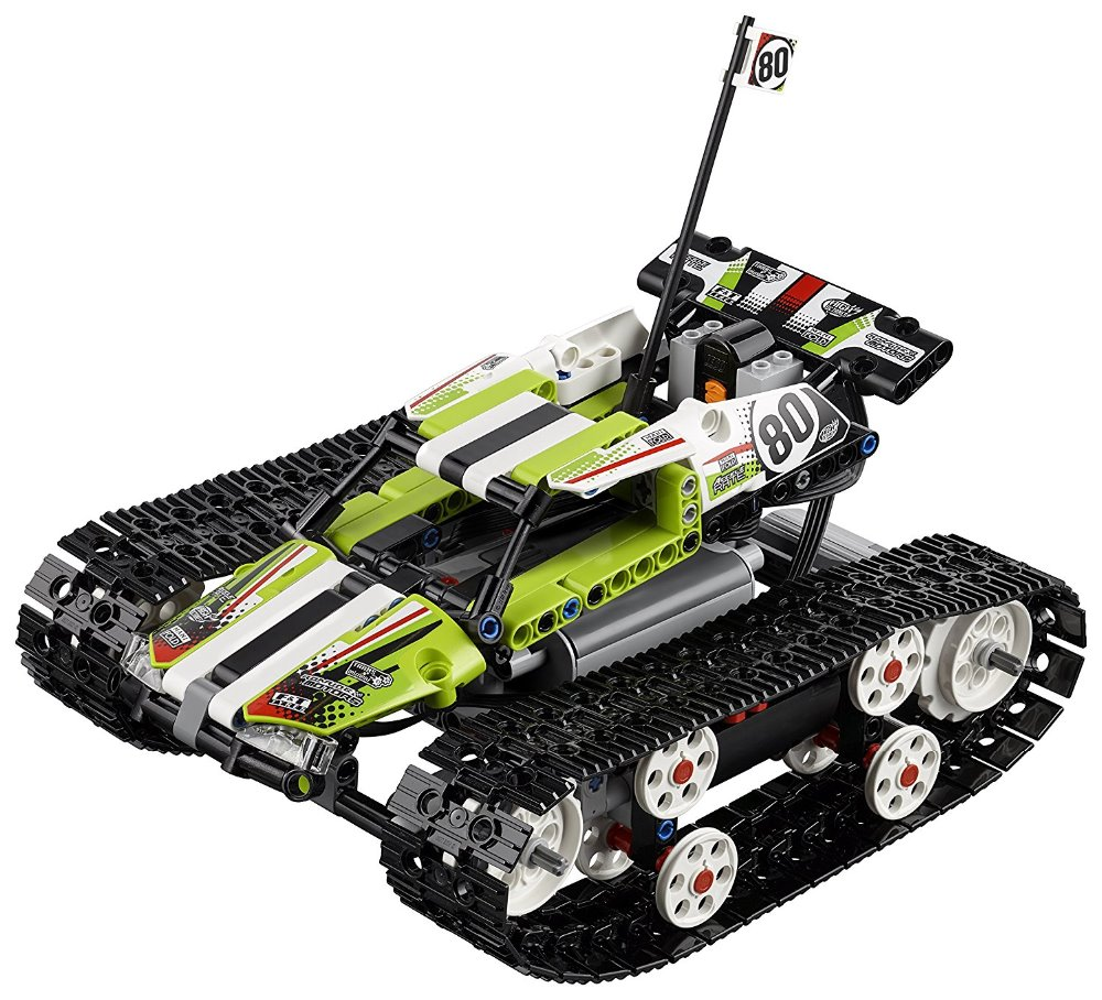 Lepin 20033 Technic Series The RC Track Remote-control Race Car Set Building Blocks Bricks Educational Toys 42065 glow race track bend flex glow in the dark assembly toy 112 160 256 300pcs slot race track 1pc led car puzzle educational toys
