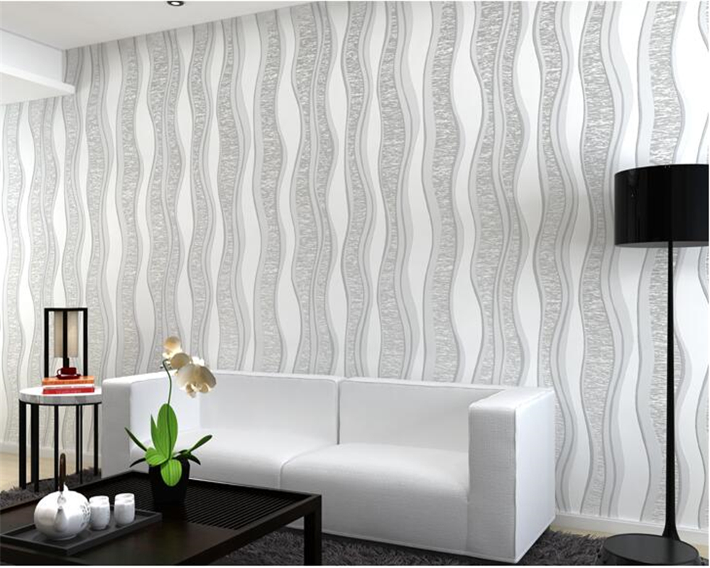beibehang 3d modern simple abstract nonwovens 3d wallpaper plain wave TV background wall living room bedroom entrance wallpaper simple plain color clothing store wallpaper non woven wallpaper bedroom living room modern 3d stereo tv background wall