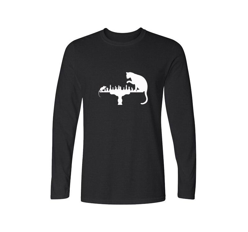 Funny design 2017 new fashion cotton t shirt men long for Long sleeve t shirts design
