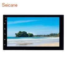 Seicane 2 Din 7 «автомобильный мультимедийный плеер для KIA Nissan Suzuki TOYOTA Hyundai VW HONDA Универсальный Bluetooth Сенсорный экран автомобиля радио