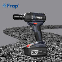 Frap nouvelle clé à chocs sans brosse sans fil clé électrique outil électrique 320N. m couple Rechargeable batterie supplémentaire disponible YHD919