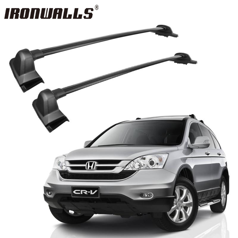 Ironwalls <font><b>Car</b></font> Roof Rack Cross Bars For bike Snowboard Rack Luggage Cargo Basket Carrier For Honda CRV 2007 2008 2009 2010 2011