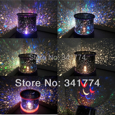... Novelty LED Planetarium Night Lights Starry Sky Star Master Projector  Table Lamp Luminarias Gift For Kids ...
