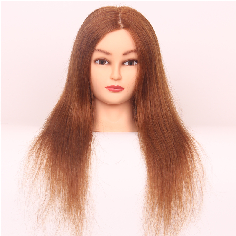 professional hair styling head professional styling 18 quot human hair mannequin 7893 | Professional Styling Head 18 Human Hair Mannequin Head With Hair Styling Mannequins Training Head Maniquies Women