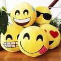 Frete grátis 35 * 35 cm kawaii coréia emoji QQ expressão de pelúcia travesseiro bonito brinquedos de pelúcia para crianças presente de aniversário