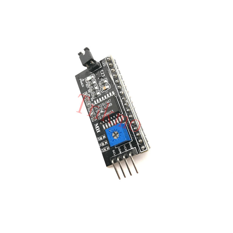 1pcs Serial Board Module Port IIC/I2C/TWI/SPI Interface Module for 1602 LCD Display for arduino DIY KIT toddler girl princess dress flower kids dresses for baby girls clothes dresses for party and wedding clothing 13 color choose