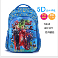 2016 New Arrived 5D Captain America Backpack, Infant Captain America Schoolbag for little boy Gifts school kid Hero Bag