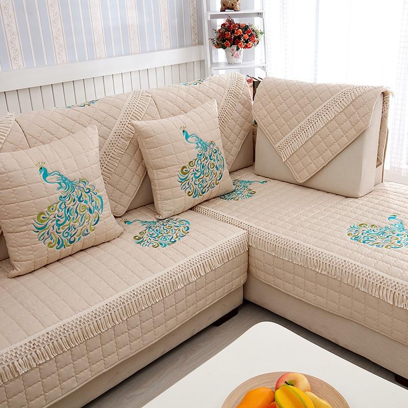 Patterned Sofa Slipcovers Sofa Covers Slip Resistant