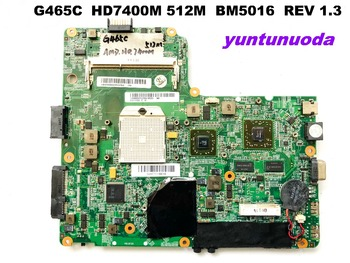 Original for Lenovo G465C laptop motherboard G465C  HD7400M 512M  BM5016  REV 1.3 tested good free shipping
