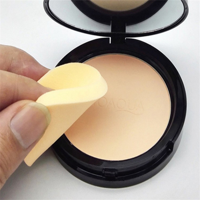 Matte Pressed Powder Makeup Concealer Oil-control Face Setting Foundation Facial Make Up Mineral Compact Powder Cosmetics 2