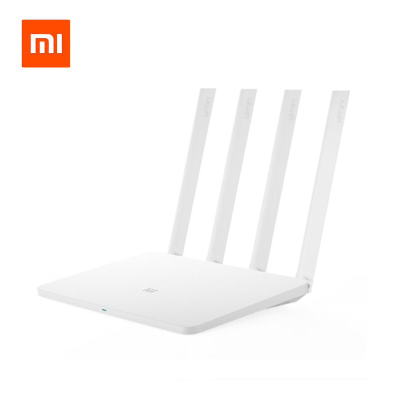 English Version Original Xiaomi Mi Router 3 MT7620A Processor 2.4GHZ/5GHZ 128MB Wireless WiFi Support Windows Android wavelets processor