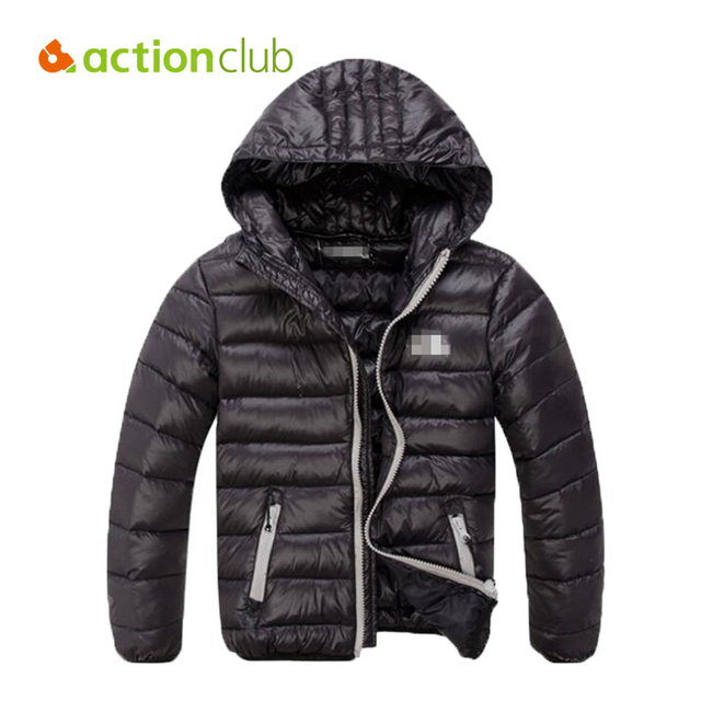 Children Winter Down Jackets Light Kids Down Coat Girls New Hooded Thicken Outerwear Boys Fashion Warm Parkas Zipper Clothes