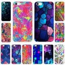 kxdnteam Triangle Ombre Mosaic style Cases for iphone X 8 7 6 6S Plus 5 5S  SE 4c7611e1f3cd