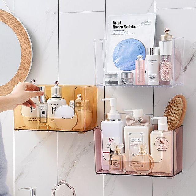 Anfei Mural Toilette Douche Rangement Maquillage Organisateur