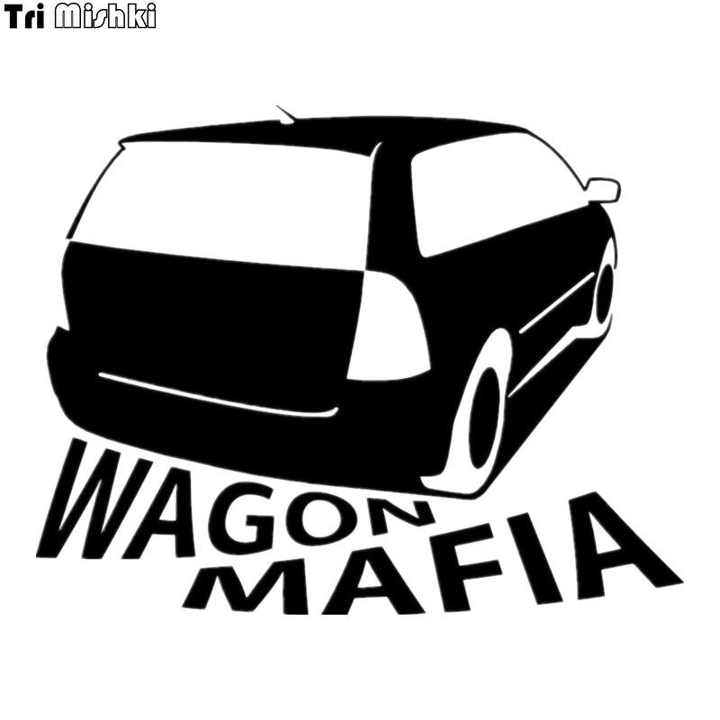 Tri Mishki HZX012 15*19.1см форма автомобиля для Corolla Fielder Wagon Mafia наклейки на авто виниловые наклейки на мотоцикл акссесуары светоотражающая
