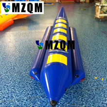MZQM  6 persons use Inflatable Sea Games Inflatable Flyfish Banana Boat For Advanture