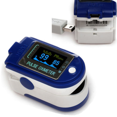 CONTEC Oximetro CMS50D+ OLED Blood Oxygen Saturation Spo2 Pulse Rate Alarm Monitor,Software USB Finger Tip Pulse Oximeter-in Blood Pressure from Beauty & Health