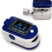 CONTEC Oximetro CMS50D + OLED насыщения крови кислородом Spo2 Пульс сигнализации Монитор, по USB кончик пальца Пульсоксиметр
