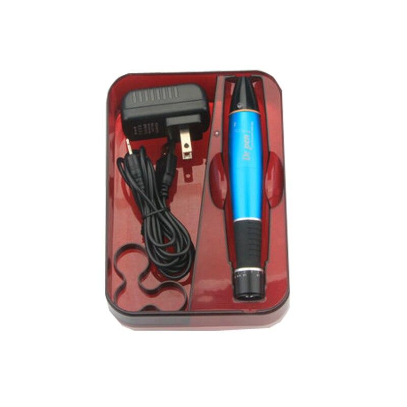 Güzellik ve Sağlık'ten null'de Şarj edilebilir cilt bakım kalemi Dr Kalem A1 W Oto Mikroiğne Kalem Süngü Prot Iğne Kartuşları Kalem Kablosuz Elektrikli cilt damgası Mavi'da  Grup 2
