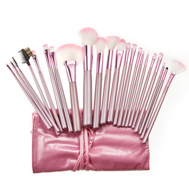 Free shipping !! 22 pcs make up tools kit Cosmetic Beauty Makeup Brush Foundation Powder Blush Eyeliner Brushes Eyebrow Lip Brus o two o makeup brush set make up foundation powder blush eyeliner brushes cosmetic tools 5 pcs brush