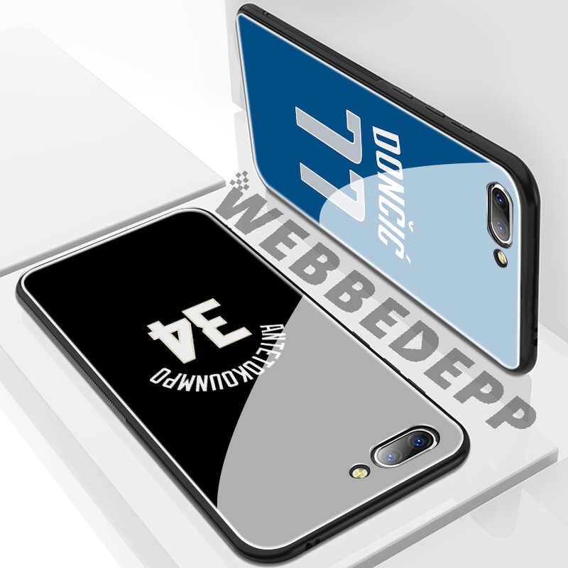 WEBBEDEPP Luka Doncic dólares 34 de vidrio templado para Huawei Mate 20 P20 P10 P Smart 2019 de 2018 y Honor 10 9 8X 7A Lite Pro