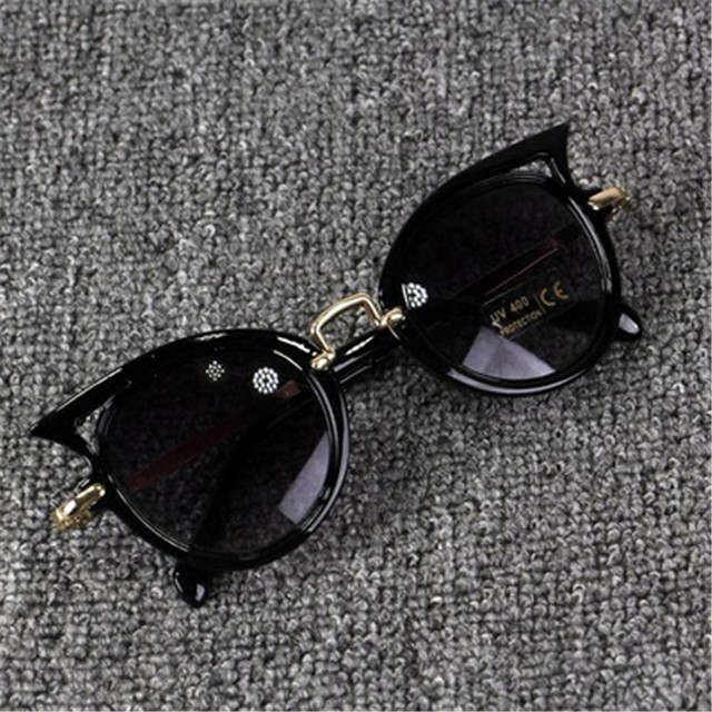 Kids Sunglasses Girls Cat Eye Children Glasses Boys UV400 Lens Baby Sun glasses Cute Eyewear Shades Goggles