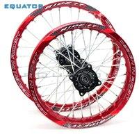 12mm 15mmFront 1.40x14 inch Rear 1.85x12 inch Alloy Wheel Rim For KAYO HR 160cc TY150CC Dirt Bike Pit bike 12 14 inch wheel