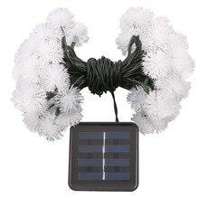 CSS 50 Гирлянды светодиодные огни Водонепроницаемый солнечный светильник 7 м сеть Гирлянда Свет для украшения дома Garden Party, свадьбы, свадебная вечеринка