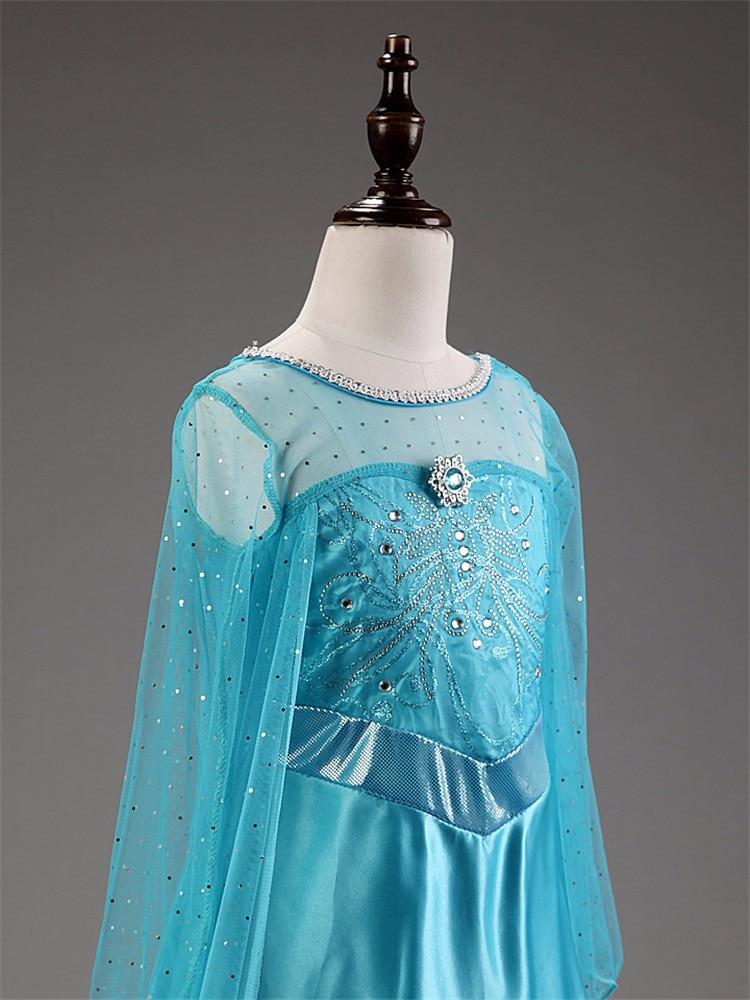 HTB1GP1XXH1YBuNjSszhq6AUsFXaX Girls Elsa Dress Costume Princess Anna Dresses Cosplay Party Summer Baby Kids Children Fancy Baby Girl Clothes elza vestidos