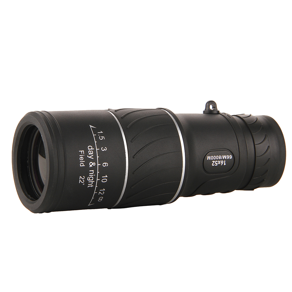 52 HD Spotting Scope Monocular with Tripod Adjustable Single Telescope Full Optical Night Vision for Birdwatching Outdoor Hiking in Monocular Binoculars from Sports Entertainment