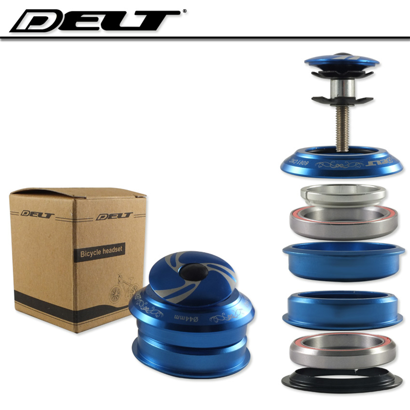 """1-1/8"""" MTB bmx Mountain Road Bicycle Bike Threadless Headset Spacers For 28.6X44mm 2 Bearings Blue accessories"""