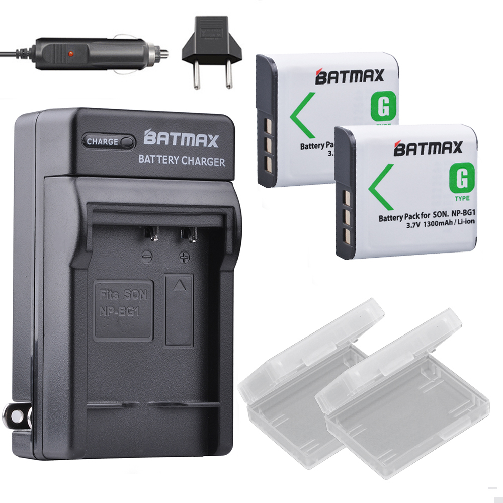 Batmax NP-BG1 Battery Rechargeable Battery for SONY Cyber-shot Camera