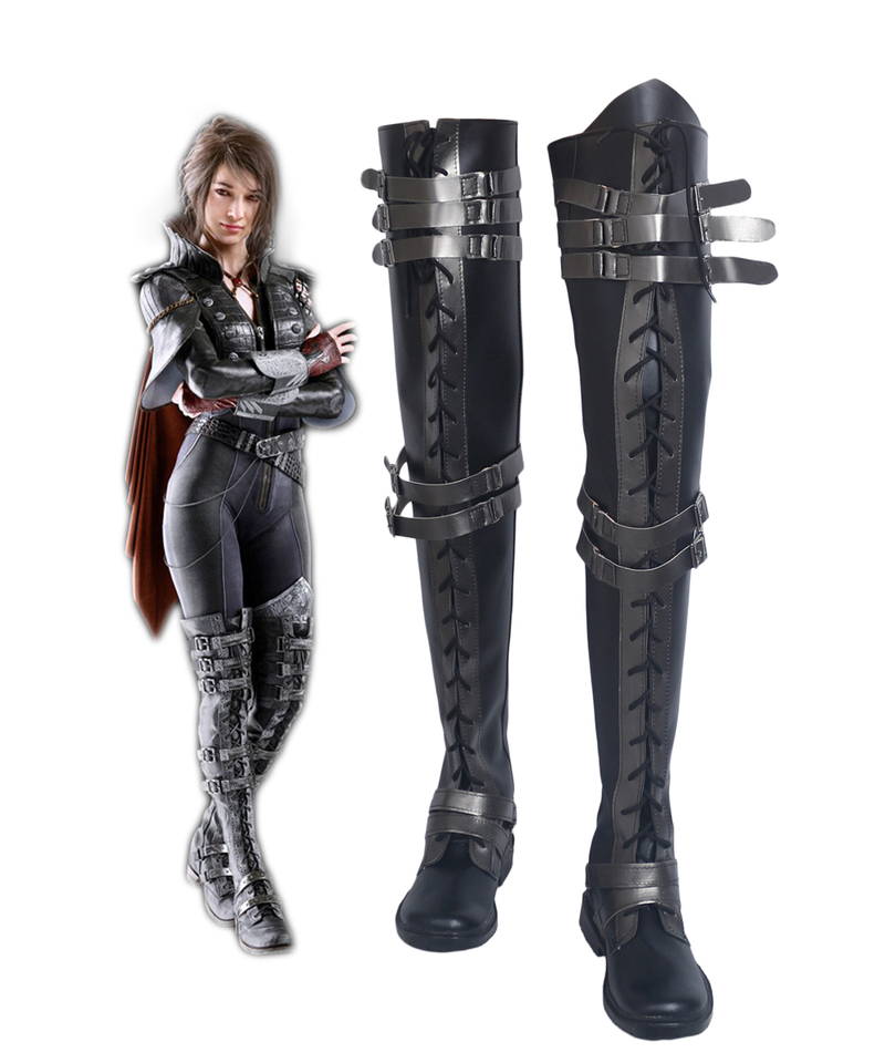 Crowe Altius Cosplay Shoes Kingsglaive Final Fantasy Xv Crowe