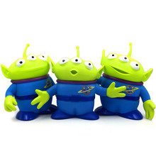 цена на 14cm PVC Alien Toy Story Alien Figures  Action Figure Doll Anime Brinquedos Kids Toys For Children Birthday Gift