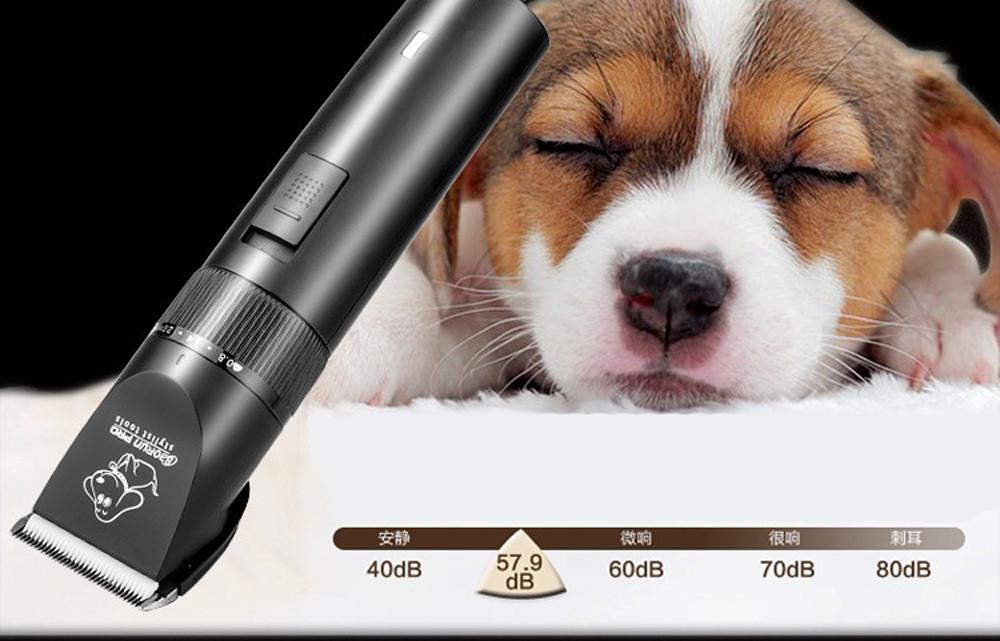Recortadora profesional de pelo para perros y gatos 8