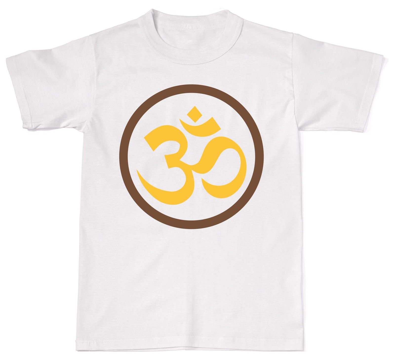 2018 Summer Hot Sale Men O-Neck T Shirt Ohm Symbol Om Meditation Spirituality Yogas Mens Womens Cotton T-Shirt T shirt ...