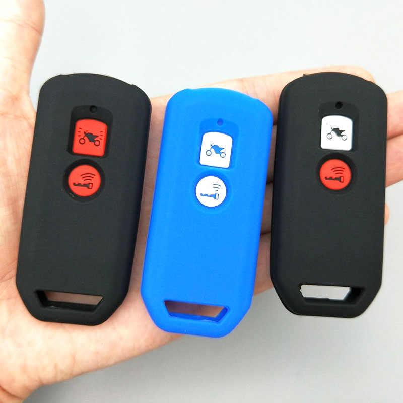 Motocykl klucz stylizacji dla honda pcx 150 hybrydowy X-ADV SH125 Scoopy SH300 Forza 125 2 przycisk silnika klucz pokrywa silikonowa case protect
