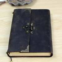 Vintage Antique Leather Journal Handmade Buffalo Travel Diary Classic Soft Leather Bound Writing Notebook