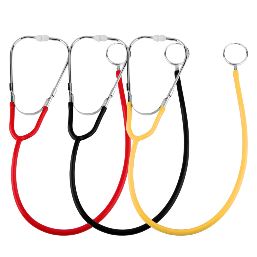 Pro Dual Head EMT Stethoscope for Doctor Nurse Medical Student Health Blood Light weight aluminum chest piece Hot sale 2017 New