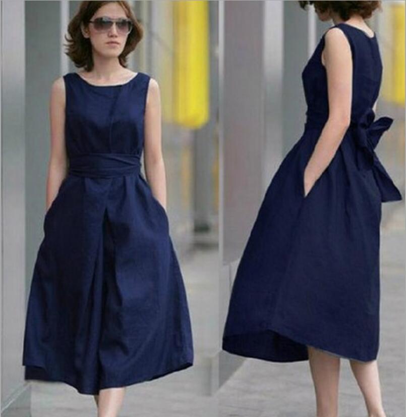 c72052fcad Summer-dress-Novelty-Vestido-Casual-Dresses-for-women -sleeveless-Dress-with-cotton-and-flax-belt-Dress.jpg