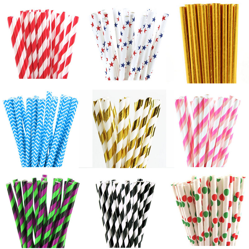 decorative straws for weddings 25pcs design paper straws for birthday wedding decorative 3463