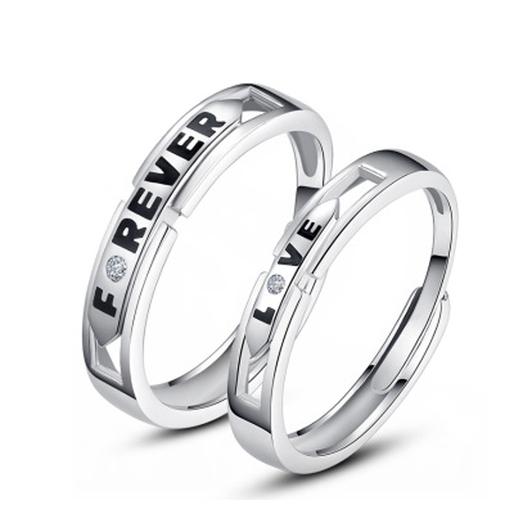 Online Buy Wholesale platinum promise rings from China platinum ...
