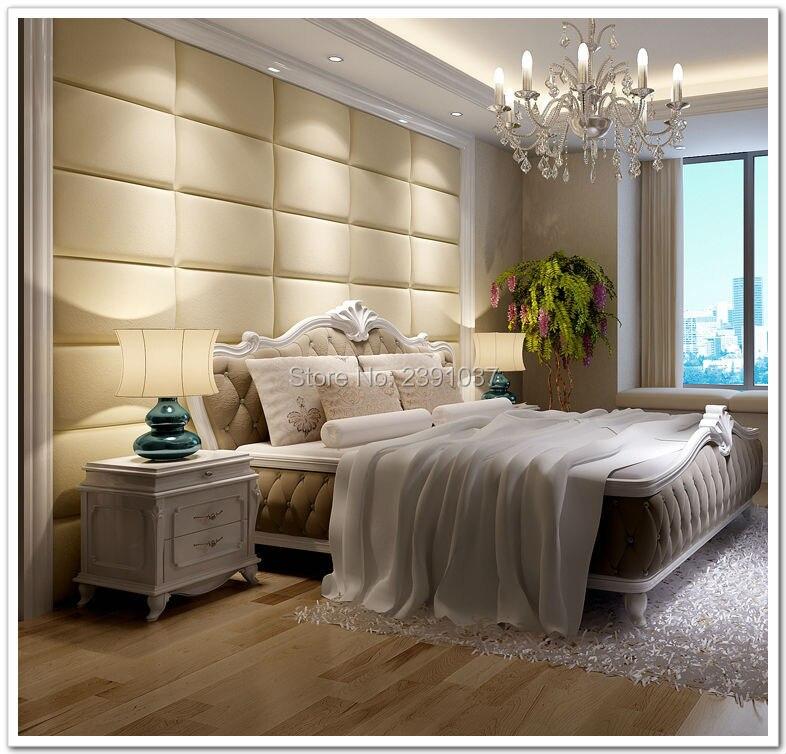 2016 New Custom PU Leather Acoustic Panel 10pcs 60*30cm acoustic panel Wall Panel panel acustico Choice Of Fabric Headboard