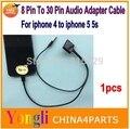 1 шт. Док-станции Зарядное устройство. 8 Контактный До 30 Контактный Док 3.5 мм Синхронизации Зарядки Аудиовыход Конвертер Для iPhone 6 6 plus 5 5S